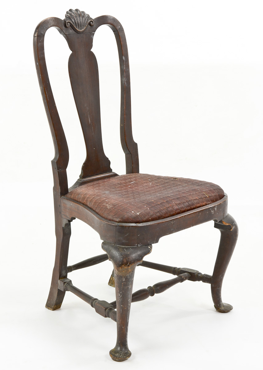 Queen Anne Chair: Sold for $10,314 - Antiques Appraisals In CT - Nest Egg Auctions